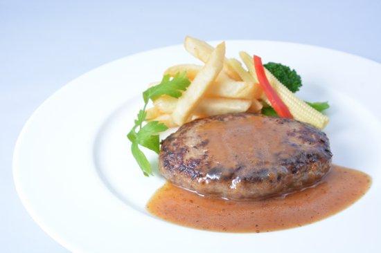 肉感たっぷり 鹿児島牛ハンバーグ