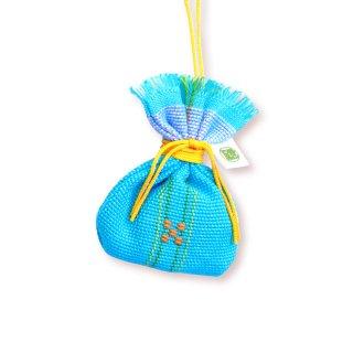 沖縄伝統工芸品コラボ マース袋のお守り 獅子丸しずく