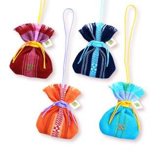 沖縄伝統工芸品コラボ マース袋のお守り 4人コンプセット