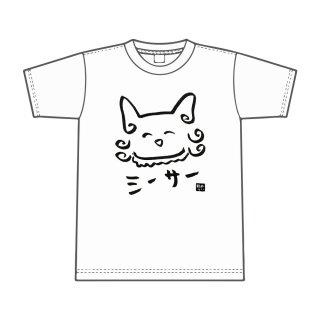 根間ういデザインTシャツ シーサー