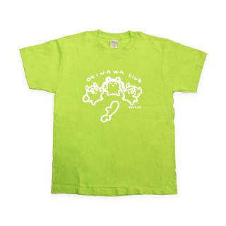 ゆるキャラおきなわ部Tシャツ ライトグリーン
