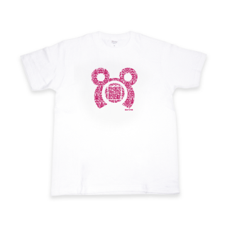根間ういQRコードTシャツ ホワイト