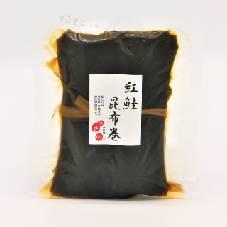 株式会社浜野水産紅鮭昆布巻き 2本入