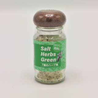 新海塩産業Salt Papper Green 30g