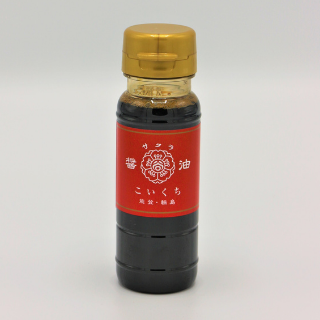 谷川醸造サクラ醤油鶴(こいくち)100ml