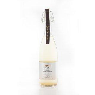 白 浅柄野レッドミルレンニュ-ムノンフィルター(瓶内二次発酵にごり)720ml