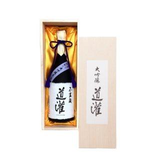 清酒 大吟醸 袋吊り斗瓶取り  道灌 (桐箱入)720ml