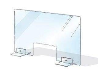 衛生カバー・窓付き<br>(ねじ留め式)