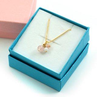 ギフトボックス ペンダント リング  ケース プレゼント ラッピング ブルー ピンク【CCA0020】