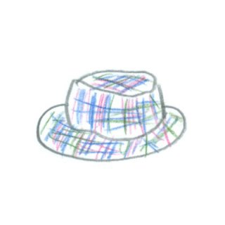 dimanche(春夏用の帽子)