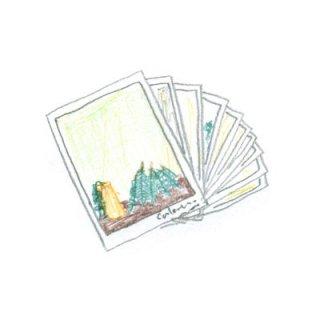 椿野恵里子 ポストカード2019