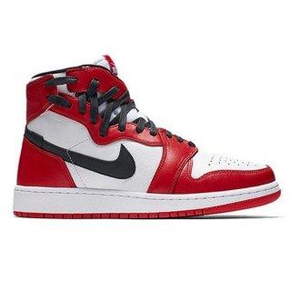 NIKE WMNS AIR JORDAN 1 REBEL XX CHICAGO WHITE  BLACK UNIVERSITY RED