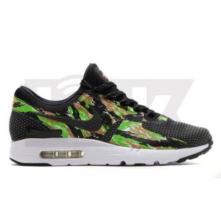 NIKE AIR MAX ZERO JP ID x ATMOS TIGER CAMO BLACK/BLACK-DARK GREY-TOTAL ORANGE