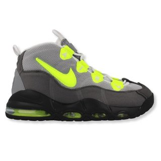 NIKE AIR MAX UPTEMPO 95 NEON BLACK VOLT DUST DARK PEWTER