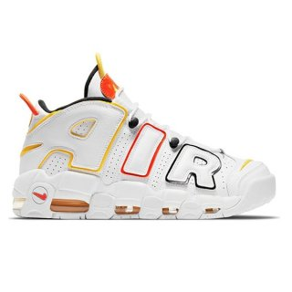 【予約】NIKE AIR MORE UPTEMPO RAYGUNS WHITE ORANGE BLACK