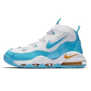 NIKE AIR MAX UPTEMPO 95 WHITE/BLUE FURY-CANYON GOLD