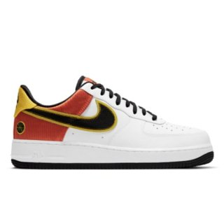NIKE WMNS AIR FORCE 1 07 ESS WHITE/WHITE-METALLIC GOLD-BLACK