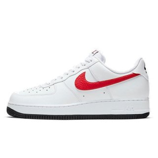 NIKE AIR FORCE 1 LOW RS SHOEMAKER PACK WHITE UNIVERSITY RED PHOTO BLUE