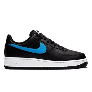 NIKE AIR FORCE 1 LOW RS SHOEMAKER PACK BLACK UNIVERSITY RED PHOTO BLUE