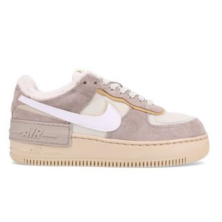 NIKE WMNS AIR FORCE 1 PIXEL WHITE/WHITE-BLACK-SAIL