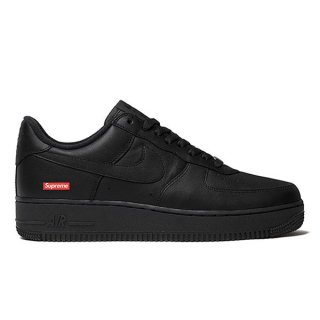 NIKE AIR FORCE 1 LOW x SUPREM BLACK BLACK