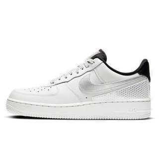NIKE AIR FORCE 1 07 LV8 3M SUMMIT WHITE SUMMIT WHITE BLACK