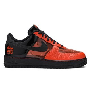 NIKE AIR FORCE 1 LOW SHIBUYA HALLOWEEN BLACK/ORANGE CT1251-006