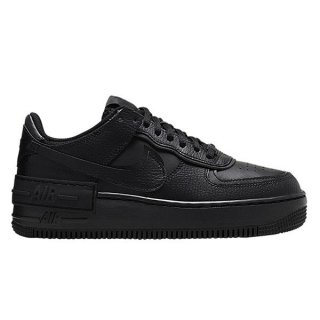 NIKE WOMEN AIR FORCE 1 SHADOW BLACK/BLACK-BLACK