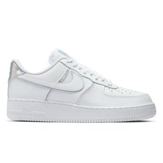NIKE AIR FORCE 1 07 LV8 4 Y2K WHITE IRIDECENT