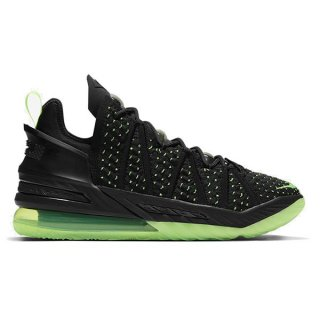 予約】NIKE LEBRON XVIII DUNKMAN BLACK ELECTRIC GREEN BLACK