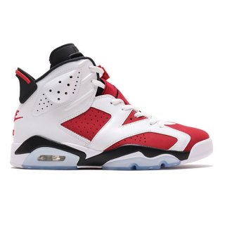 【予約】NIKE AIR JORDAN 6 RETRO OG CARMINE 2021 WHITE BLACK CARMINE