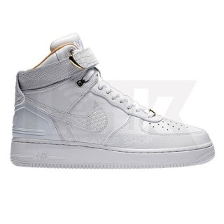 NIKE AIR FORCE 1 HIGH AF-100 COLLECTION JUST DON C WHITE/WHITE