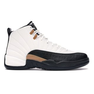 NIKE AIR JORDAN 12 RETRO CNY WHITE/BLACK-VARSITY RED