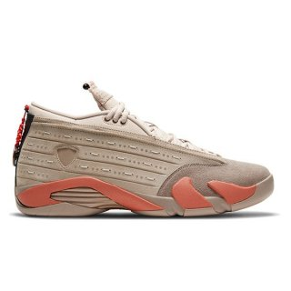 NIKE AIR JORDAN 14 RETRO LOW SP X CLOT SEPIA STONE/TERRA BLUSH-DESERT SAND