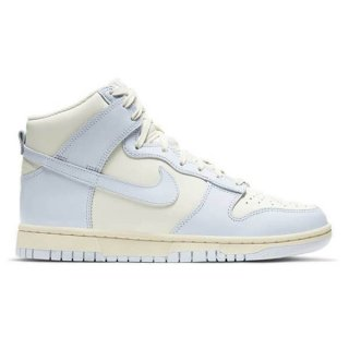 NIKE WMNS DUNK HIGH SAIL/FOOTBALL GREY-PALE IVORY