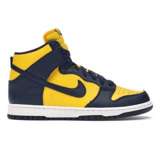 NIKE DUNK HI SP MICHIGAN 2020 VARSITY MAIZE MIDNIGHT NAVY
