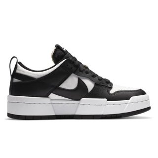 NIKE WMNS DUNK LOW DISRUPT BLACK SUMMIT WHITE