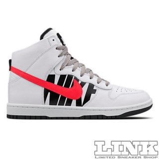 UNDEFEATED × NIKE DUNK LUX WHITE/BLACK/INFRARED