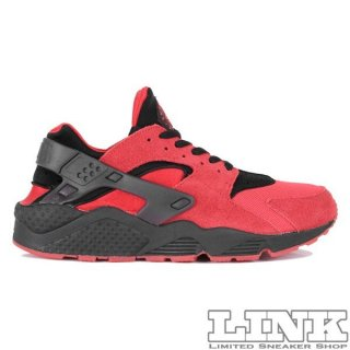 NIKE AIR HUARACHE RUN QS UNIVERSITY RED/BLACK