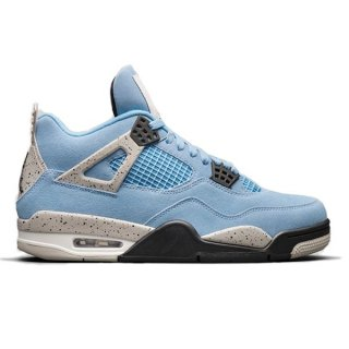 【予約】NIKE AIR JORDAN 4 RETRO UNIVERSITY BLUE/TECH GREY-WHITE-BLACK