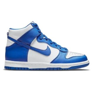 【予約】NIKE DUNK HIGH WHITE/GAME ROYAL-TOTAL ORANGE