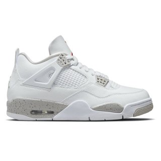 【予約】NIKE AIR JORDAN 4 RETRO WHITE OREO WHITE/TECH GREY-BLACK-FIRE RED