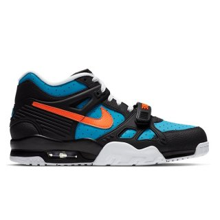 NIKE AIR TRAINER 3 BLACK/TOTAL ORANGE-LASER BLUE-WHITE