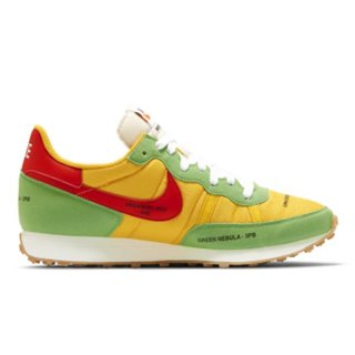 NIKE CHALLENGER OG UNIVERSITY GOLD/HABANERO RED-WHITE-GREEN NEBULA-SAIL