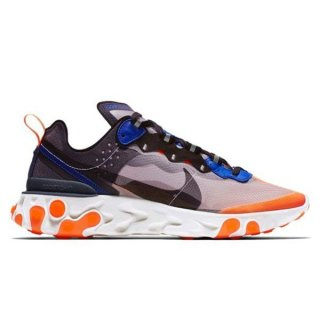 NIKE REACT ELEMENT 87 WOLF GREY/BLACK-THUNDER BLUE