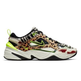 NIKE M2K TEKNO ANIMAL PRINT MULTI COLOR VOLT WHITE