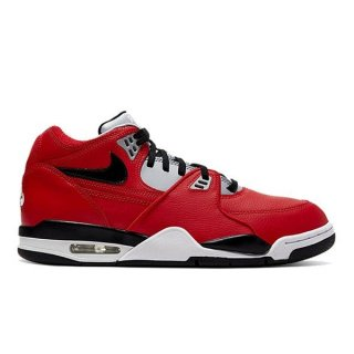 NIKE AIR FLIGHT 89 TORO BRAVO UNIVERSITY RED/WOLF GREY/BLACK/WHITE