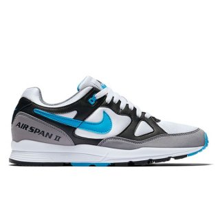 NIKE AIR SPAN II OG BLACK/LASER BLUE/WHITE