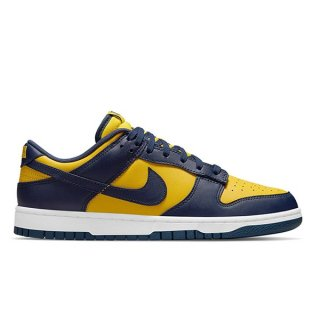 【予約】NIKE DUNK LOW RETRO MICHIGAN VARSITY MAIZE/MIDNIGHT NAVY-WHITE