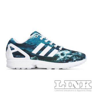 ADIDAS ORIGINALS ZX FLUX 8K OCEAN WAVE